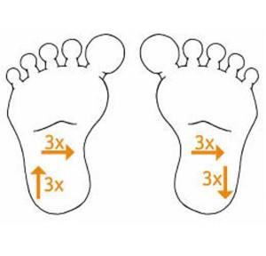 masaža dojenčka masaža stopal