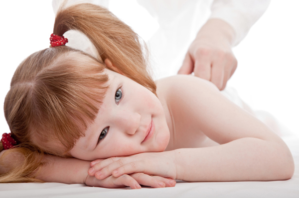 masaža otrok